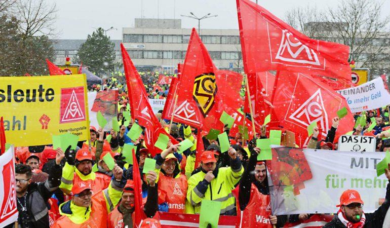 Német sztrájk és a magyar valóság